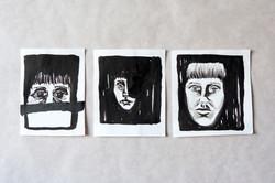 Self-Portrait IV, V, VI
