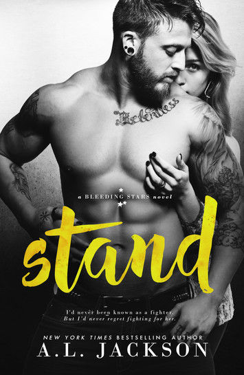 COVER REVEAL & EXCERPT: Stand by A.L. Jackson