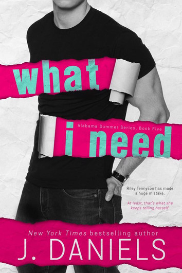 EXCERPT: What I Need by J Daniels