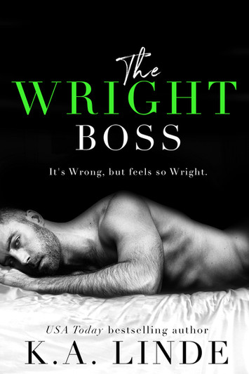 COVER REVEAL: The Wright Boss by K.A. Linde