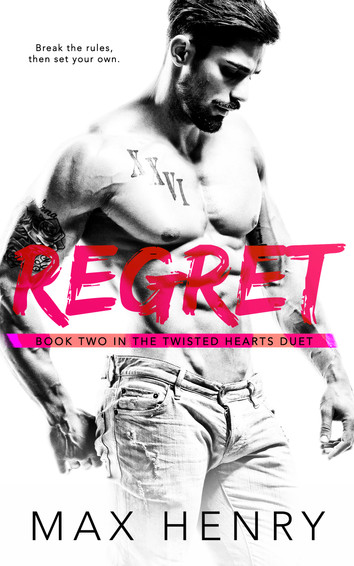 COVER REVEAL & EXCERPT: Regret by Max Henry