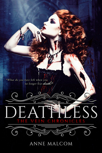 COVER REVEAL: Deathless by Anne Malcolm