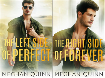 COVER REVEAL: The Left Side of Perfect & The Right Side of Forever by Meghan Quinn