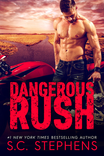 COVER REVEAL: Dangerous Rush by S.C. Stephens
