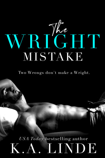 COVER REVEAL: The Wright Mistake by K.A. Linde