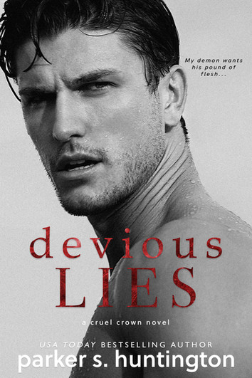COVER REVEAL: Devious Lies by Parker S. Huntington