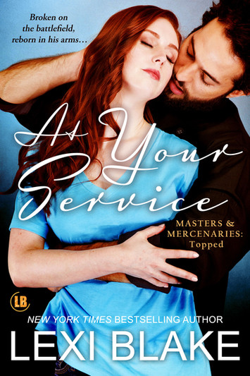 COVER REVEAL: At Your Service by Lexi Blake