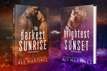 COVER REVEAL: The Darkest Sunrise Duet By Aly Martinez