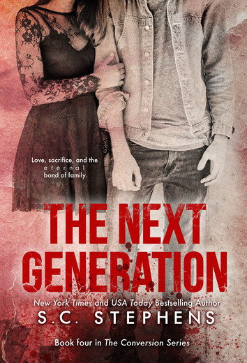 COVER REVEAL: The Next Generation by S.C. Stephens