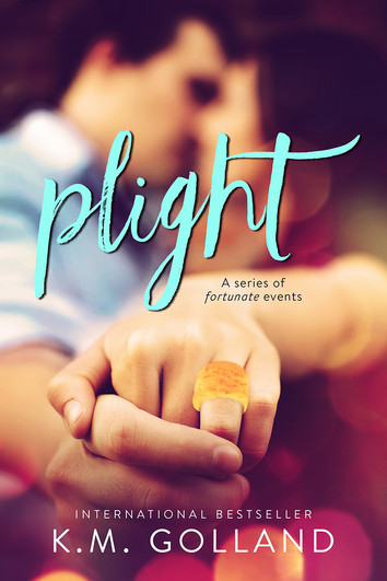 COVER REVEAL: Plight by K.M. Golland