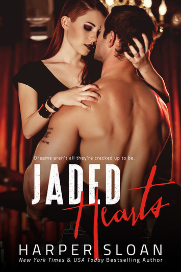 COVER REVEAL & EXCERPT: Jaded Hearts by Harper Sloan