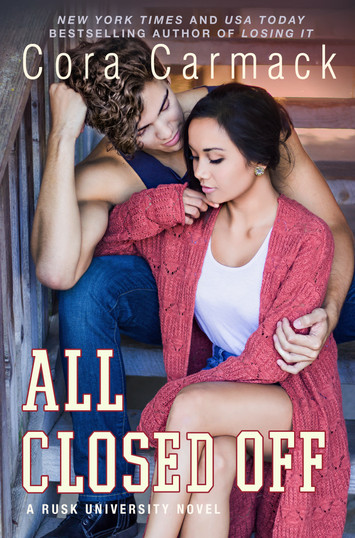 COVER REVEAL: All Closed Off by Cora Carmack