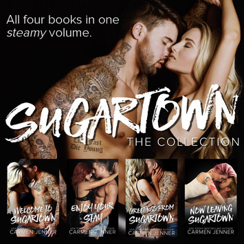 COVER REVEAL: Sugartown: The Collection by Carmen Jenner