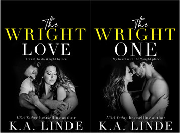 COVER REVEAL: The Wright Love Duet by K.A. Linde