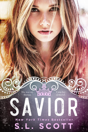COVER REVEAL: Savior by S.L Scott