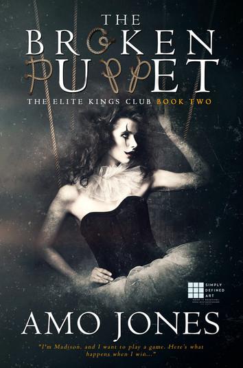 COVER REVEAL: The Broken Puppet By Amo Jones