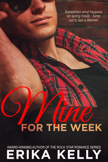 COVER REVEAL & EXCERPT: Mine For the Week by Erika Kelly