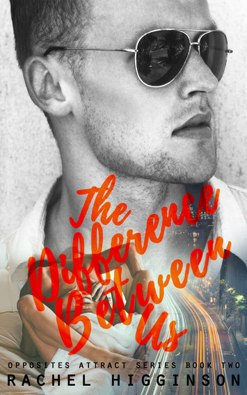 COVER REVEAL: The Difference Between Us by Rachel Higginson