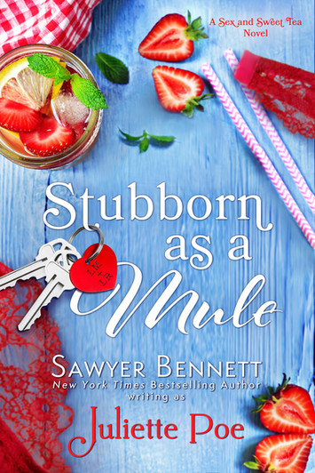 COVER REVEAL: Stubborn As A Mule By Juliette Poe