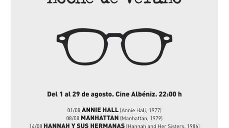 Monográfico especial de Woody Allen para agosto en La Filmoteca Albéniz