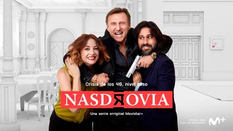 'Nasdrovia', la serie original Movistar+ protagonizada por Leonor Watling y Hugo Silva, presenta su