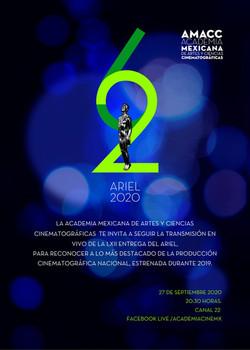 Premios ARIEL 2020
