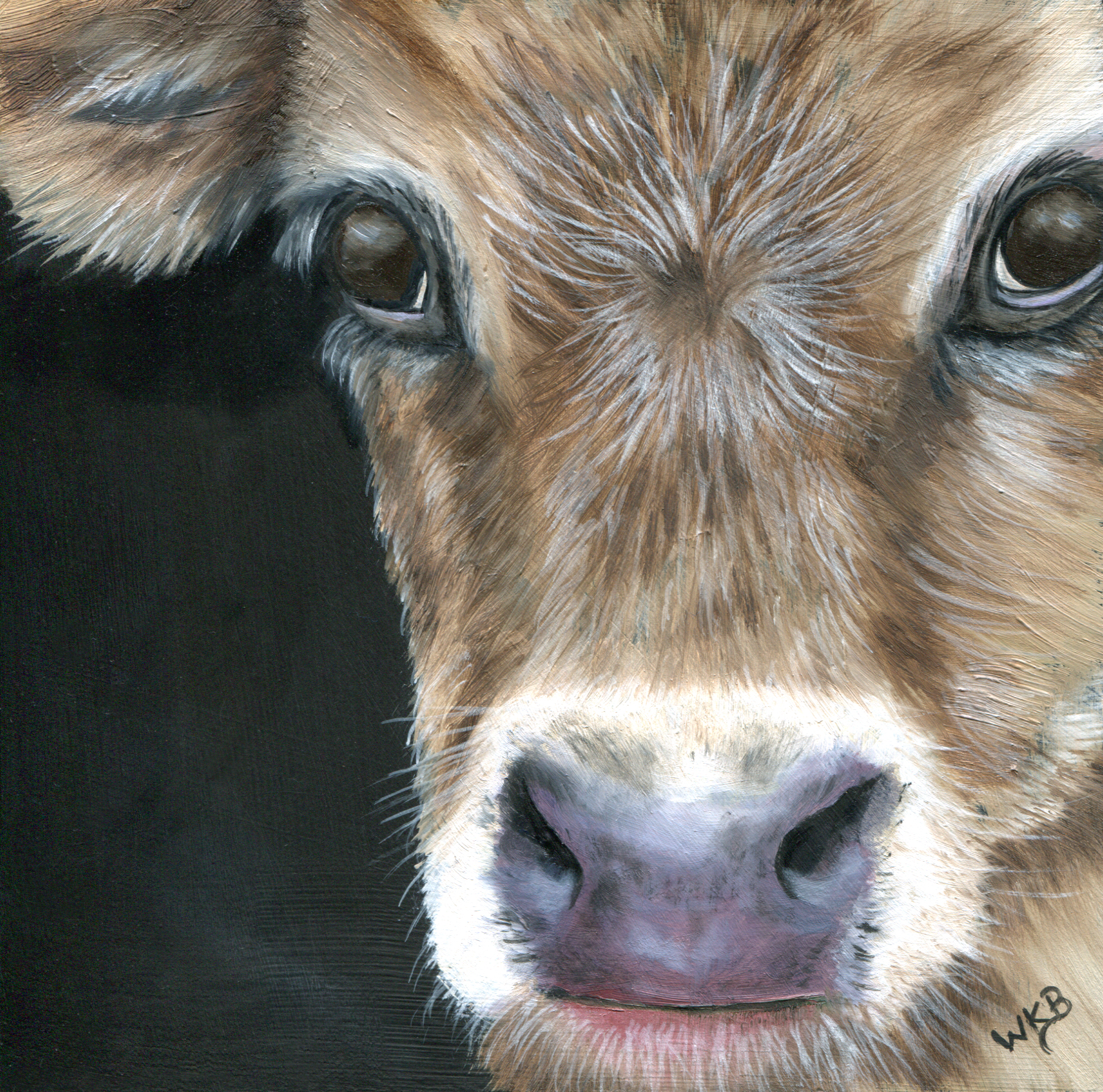 calf painting235