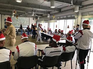 Una Navidad con Propósito para nuestros Infantes de Marina.
