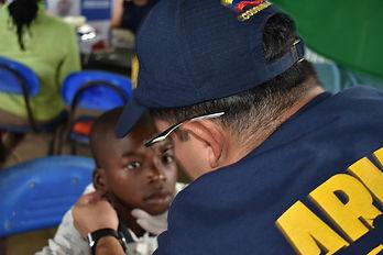 Armada nacional realizó jornada de apoyo al desarrollo en el corregimiento de Puerto Girón, Antioquia