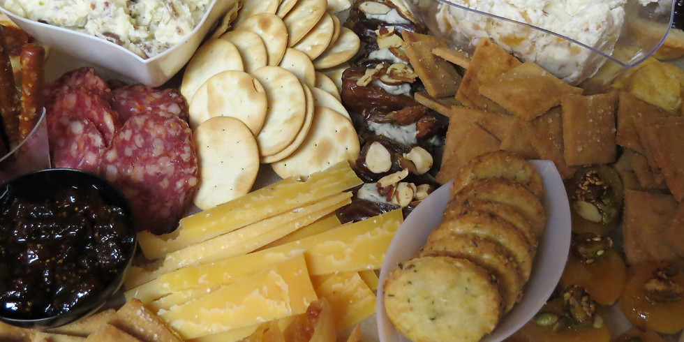 Savory Snackage presents Artisan Cheese Board Catering
