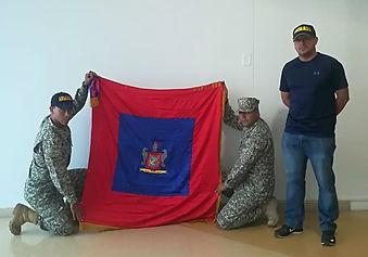 Donación de Estandartes a Batallón de Bahía Solano