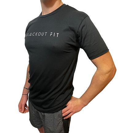 BlackOut Fit Favorite Black T 2.0 - Full Size Logo