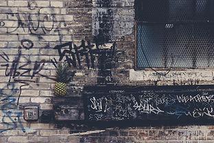 Urban Graffiti Alley