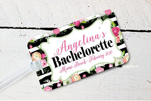Beach Bachelorette Party Destination Bachelorette Luggage Tag Favor