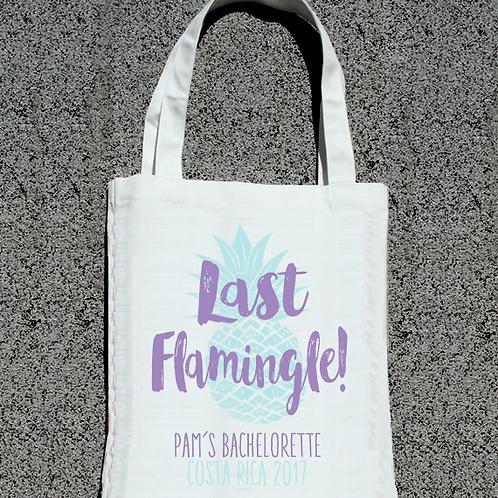 Last Flamingle Pineapple Bachelorette Tote Bag