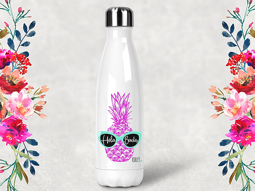 Hola Beaches Personalized Bridal Party Water Bottle -Swell Style Water Bottle