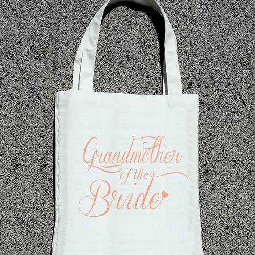 Grandmother of the Bride -Wedding Tote Bag