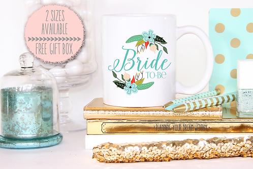 Bride to Be Wedding Engagement Mug