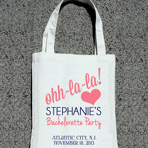 Ooh La La Bachelorette Party Tote