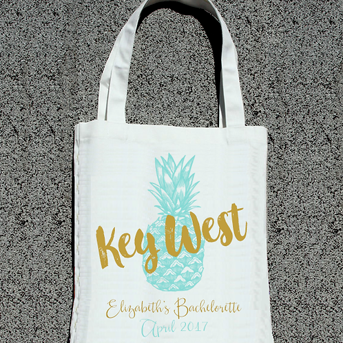 Key West Beach Bachelorette Tote Bag
