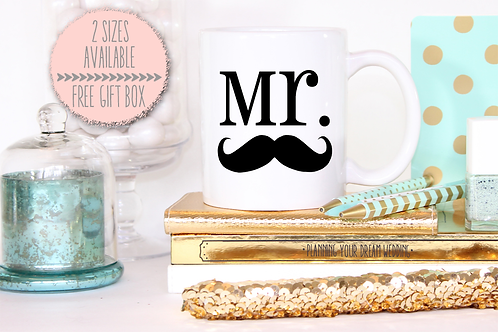 Mr Stash Wedding Engagement Mug