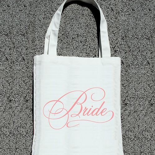 Bride -Fancy Wedding Tote Bag