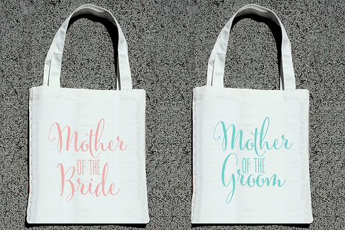 Funky Mother of the Bride & Groom Tote Bag