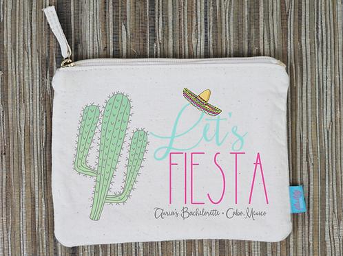 Lets Fiesta Cactus Mexico Bachelorette Party Bridal Party Makeup Cosm