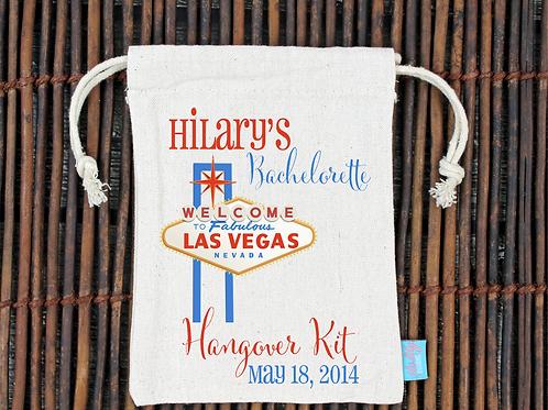 Las Vegas -Bachelorette Hangover Favor Bag
