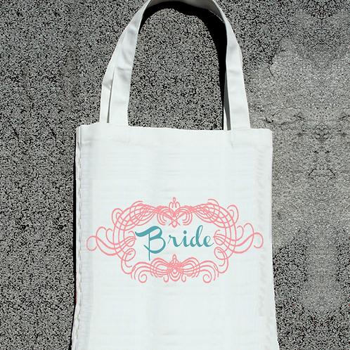 Framed Bride Tote Bag