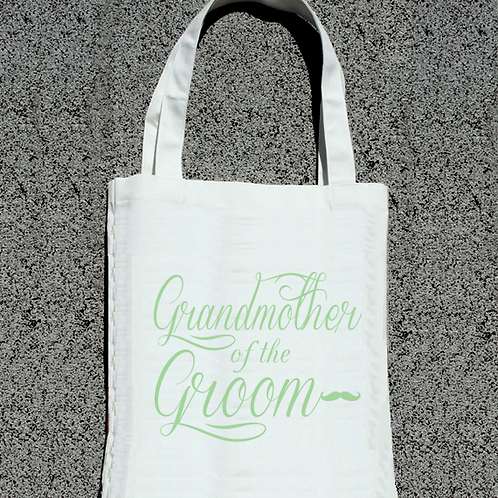 Grandmother of the Groom -Wedding Tote Bag
