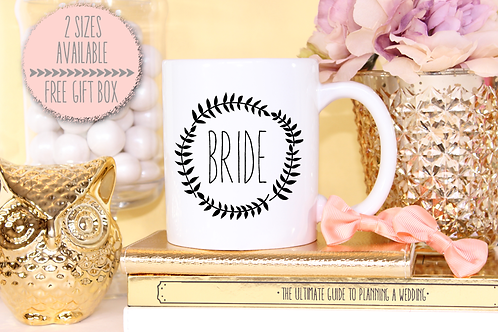 Funky Bride Wedding Engagement Mug