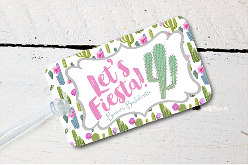 Let's Fiesta Mexico Bachelorette Party Luggage Tag