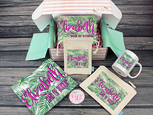 Bridesmaid Proposal Box – Personalized Bridesmaid Gift - Will You Be My Box